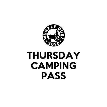 2020 THURSDAY PITCH PASS (21ST MAY)